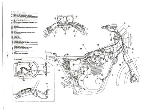 xs650 wiring harness routing 28 wiring diagram images