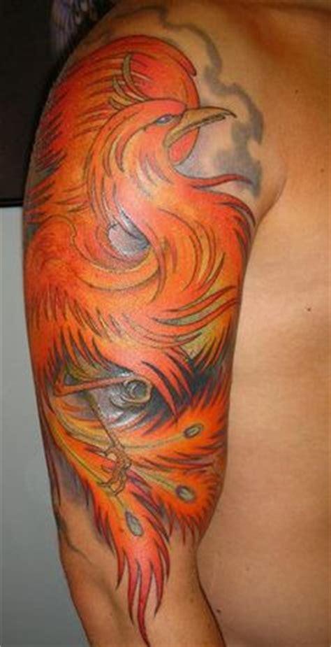 phoenix tattoo leeds 38 phoenix tattoos on half sleeve