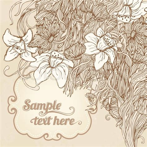 vintage wedding card background images invitation vintage floral card background wedding or s day vector illustration
