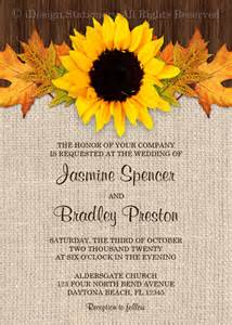 Sle Wedding Invitation Cards Templates by Free Fall Wedding Invitation Templates Wedding