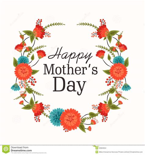 mother day greeting card design greeting card design for happy mothers day celebration