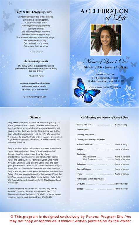 free funeral phlet template template136ao8 memorial funeral microsoft