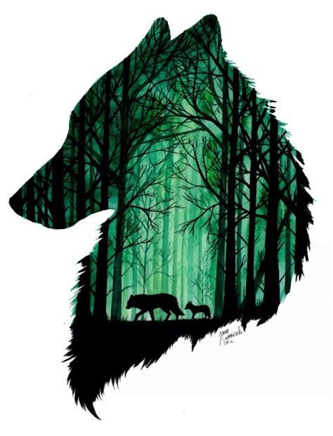 2 Die 4 Ondademar Funky Coverup by Die Besten 25 Wolf Silhouette Ideen Auf Wolf