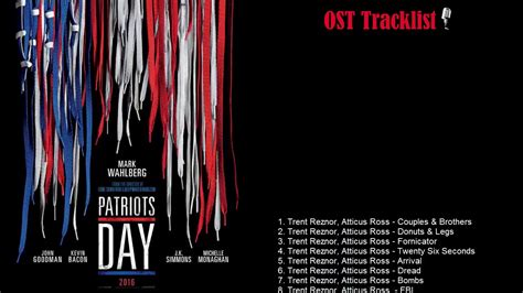 s day soundtrack patriot day ost tracklist