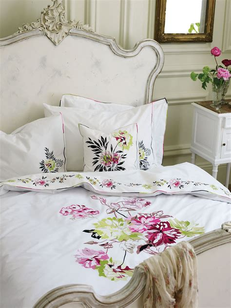 Ben And Holly Duvet Set Designers Guild Portier Peony Single Duvet Cover
