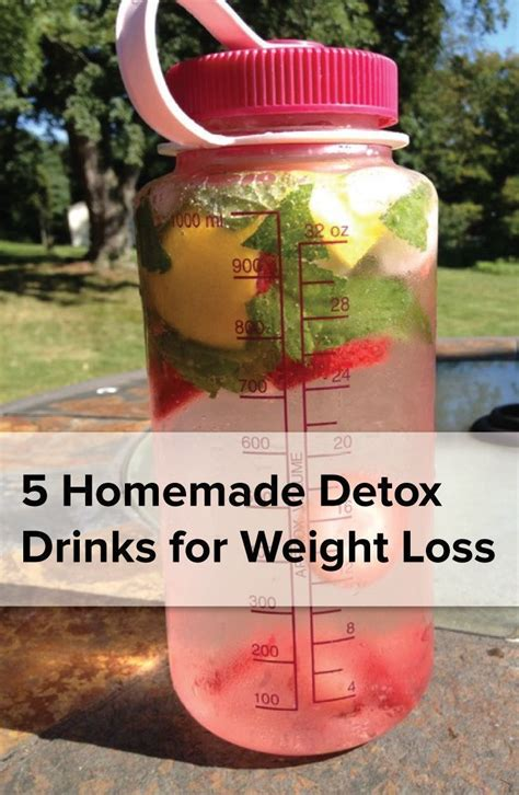 Detox Helps To Lose Weight by 5 Detoxdrinks For Weight Loss Oh So Fit