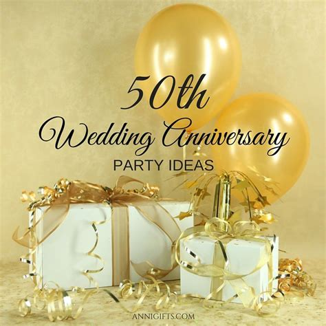 Golden Wedding Anniversary Gift Ideas by 81 Best 50th Wedding Anniversary Ideas Images On