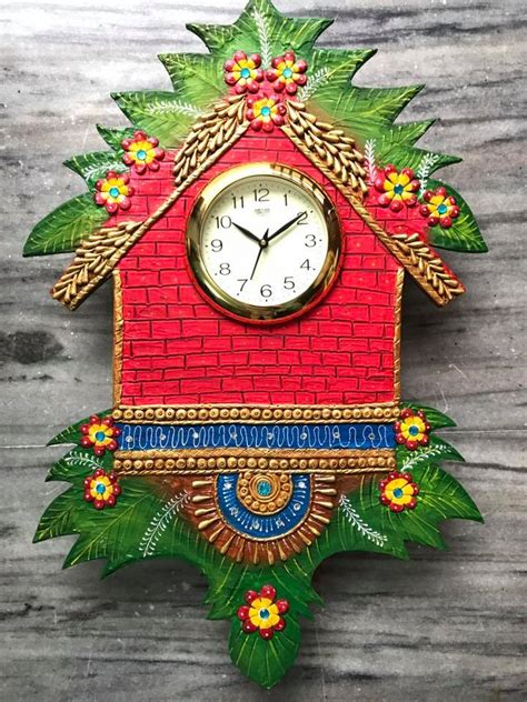 amazing wall clocks how to make amazing wall clock simple craft ideas