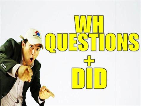 preguntas en pasado simple con wh questions wh questions past simple buzzpls