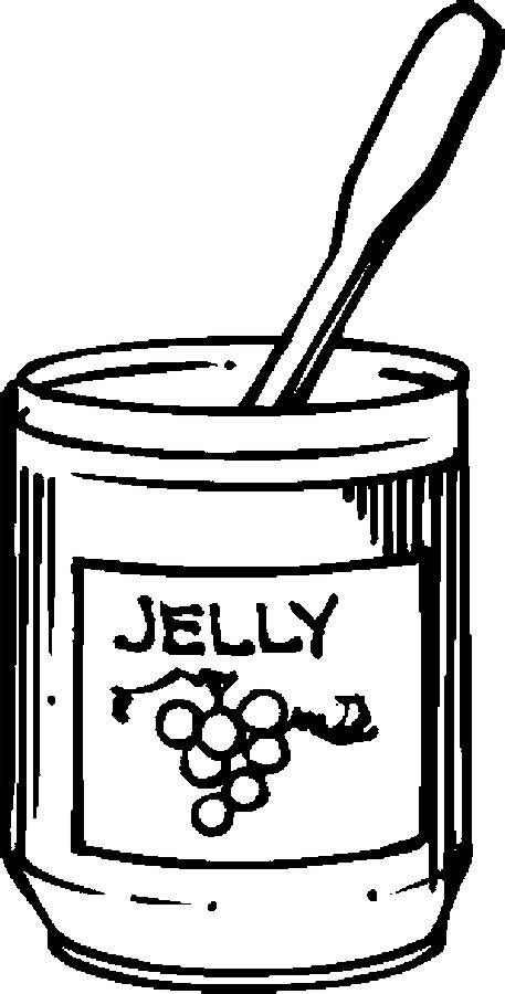 free coloring pages of jam