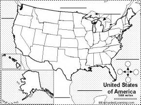 blank us map label