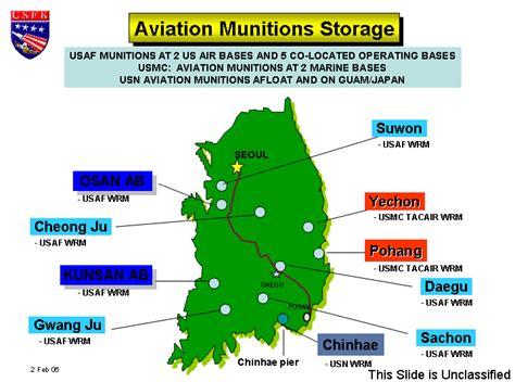 us air bases in korea map taegu air base