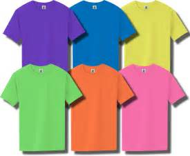 color t shirts neon purple introduced as an exciting new color of t