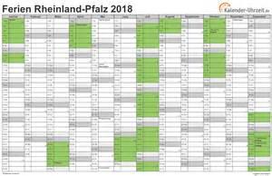 Kalender 2018 Zum Ausdrucken Mit Ferien Rlp Ferien Rheinland Pfalz 2018 Ferienkalender Zum Ausdrucken