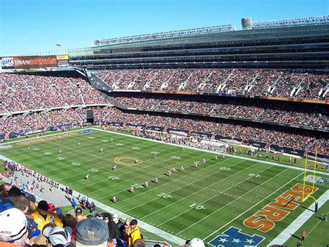 chicago bears stadium seating capacity chicago bears schedule roster 2015