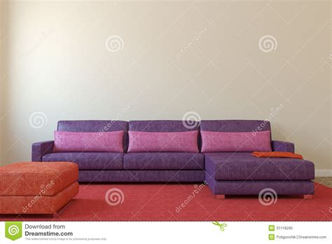 empty couch modern living room royalty free stock photo image 31118295