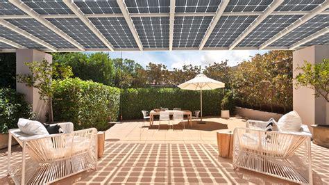 terrassenüberdachung alu oder holz solar terrassen 252 berdachung musterpark mit solarcarports