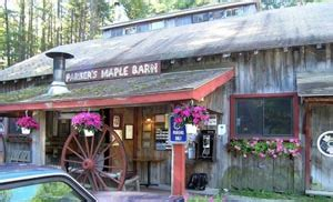 Parkers Maple Barn Hours s maple barn sugarhouse tours boston central