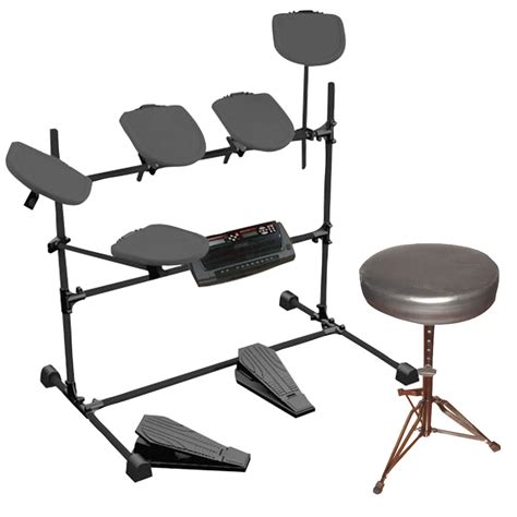 drum bench new pyle ktmupk01 electric drum kit with double braced