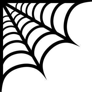 Corner Spider Web Clipart Clipart Panda Free Clipart Images Spider Web Template