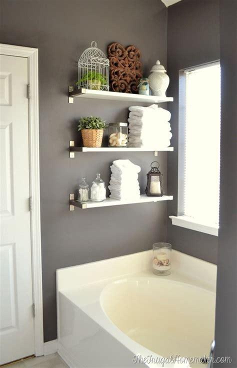 Best Bathroom Shelves Best 25 Bathroom Shelves Ideas On Pinterest Half Bath Decor Realie