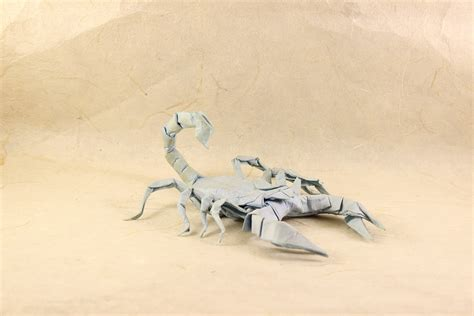 Origami Scorpion - 24 more amazingly realistic looking origami insects