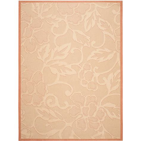 safavieh cy2326 3201 courtyard indoor outdoor area rug beige lowe s canada safavieh courtyard terracotta 8 ft x 11 ft indoor outdoor area rug cy2726 3201 8 the