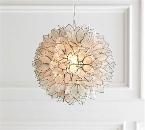 Capiz Pendant Light Capiz Pendant Pottery Barn