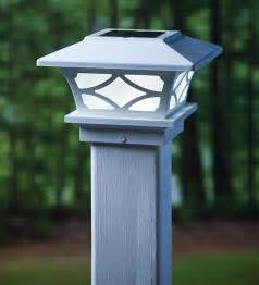 electric post cap lights 18 best images about fence post lights on