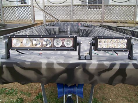 duck boat led lights backwoods landing the nations largest weldbilt dealer with