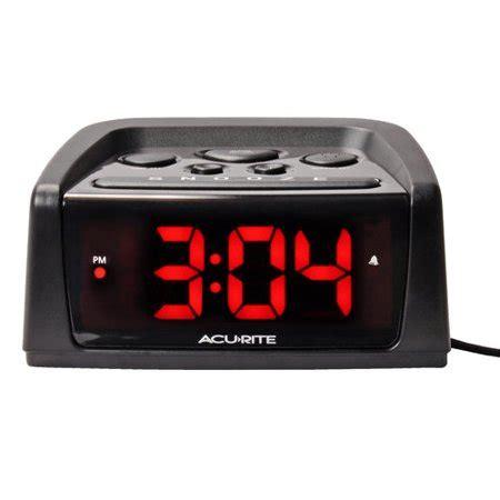acurite big and loud electric intellitime alarm clock walmart
