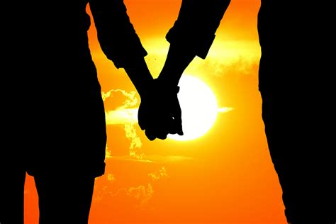 images of lovers free photo lovers silhouette sunset free image on