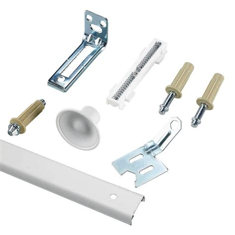 Johnson Hardware 200wm Series 48 In Track And Hardware Bifold Closet Door Track Hardware