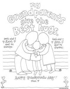 grandparent coloring pages for grandparents day skip to