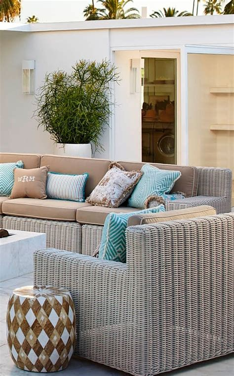Hyde Park Modular Seating In Ivory Finish Outdoor Living Hyde Park Outdoor Furniture