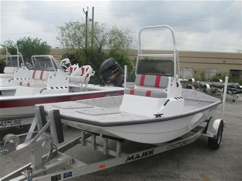 bay boats used texas 2015 majek bay boat 16 texas skiff 16 foot 2015 motor