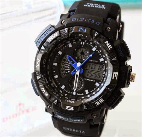 Digitech Dg 2044t Black List Grey jam tangan casio murah digitec dg 2044t water resist