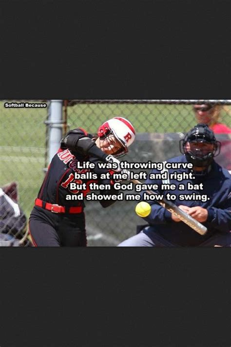 how to swing a softball bat properly life was throwing curve balls at me left and right but