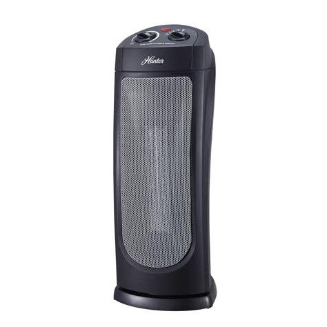 oscillating heater fan home depot 18 58 in 1 500 watt oscillating ceramic tower heater