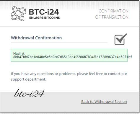 bitcoin daftar hyip bitcoin min deposit 0 001 btc dapat dollar euro