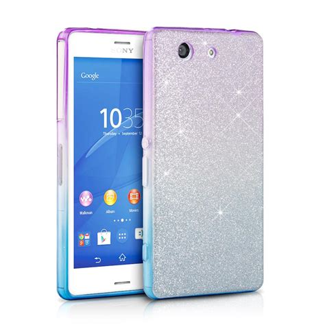 Sony Xperia Z3 Compact Sparkle sony xperia z3 compact glitter bling bling tpu silicone phone cover ebay