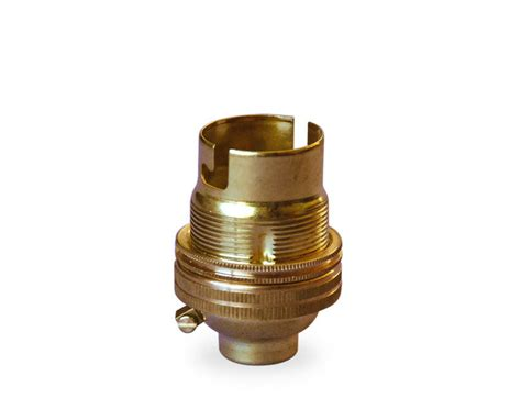 L Shade Cap by Brass L Holder Bayonet Cap With Shade Rings