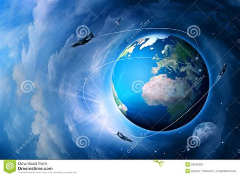 abstract earth wallpaper blue earth royalty free stock photo image 29753605