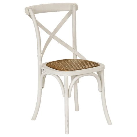 Dining Room Table 8 Chairs Provincial Cross Back Chair Crisp White