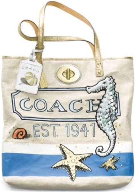 Trovata Canvas And Patent Tote The Bag Snob 4 by Coach X Le Collaboration Snob Essentials