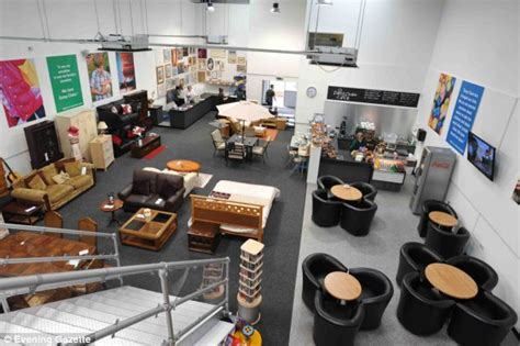 Second Shops That Buy Furniture by Chain Charity Superstore In Stockton On Tees Britain S Poshest Charity Shop Daily Mail