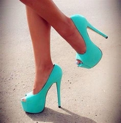 turquoise high heels shoes shoes mint turquoise high heels 5 inch high light