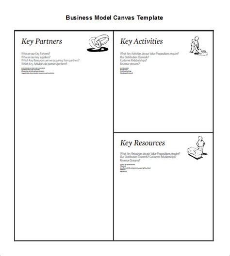 20 Business Model Canvas Template Pdf Doc Ppt Free Premium Templates Business Model Canvas Template