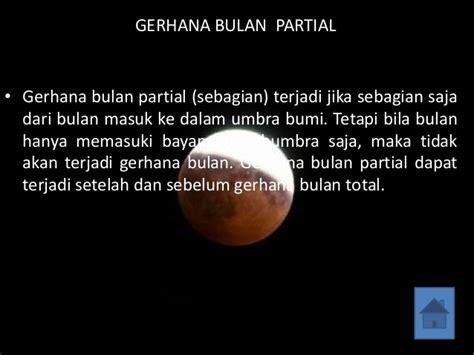gerhana bulan  gerhana matahari