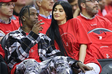 travis scotts real  kylie jenners unusual baby
